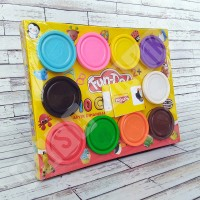 Fun Doh Refill 10 Dough Lilin Mainan Anak FunDoh / PlayDoh / Play Doh
