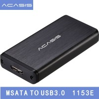 Super Speed Acasis FA-2283 SSD HDD Enclosure Adapter Case mSATA to USB