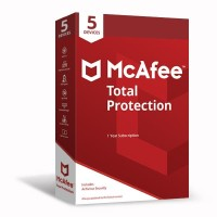 PROMO!!! McAfee® Total Protection™ FREE E-money [5 DEVICE 1 YEAR]