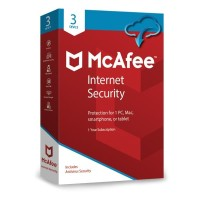 McAfee® Internet Security ORIGINAL CODE ( 3 Device / 1 Year )