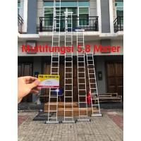 Tangga Multipurpose 5.8 Meter Tangga Lipat Tangga Alumunium AMG