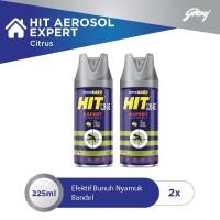 HIT AER EXPERT CITRUS 225ML - 2pcs