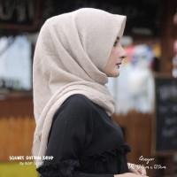 Hijab Square Cotton Drop Ginger