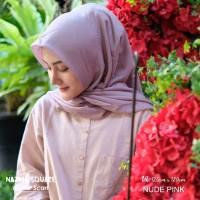 Hijab Nazma Square Nude Pink