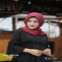 Hijab Square Cotton Drop Maroon