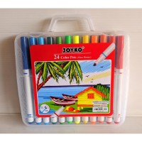 Spidol JOYKO Color Pen CLP-05 24 Warna | Spidol Warna | Pena Warna