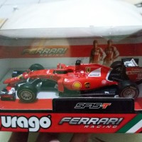 Shell Diecast Burago Ferrari Racing Original