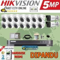 Paket Hikvision 5 Megapixel LENGKAP