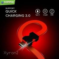 Hippo Xyron 2 Type C Kabel Data Quick Charging - 100cm