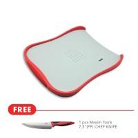Maxim Tools Cutting Board Free Pisau Dapur