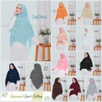 Hijab Square Segiempat Syari Diamond Model CUT LASER Original