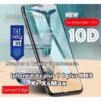 Tempered glass 10D full iphone 11 11pro 11 pro max X Xr Xs Max 7 8 3D