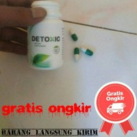 Detoxic obat anti parasit ampuh asli