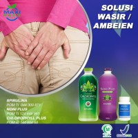 MaxiPack Obat Ambeien Wasir & Sembelit Plus Kesehatan Lambung Usus &
