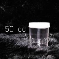 pot urine 50 cc cupslime /pot jar /wadah cream/ peniti / kapsul/botol