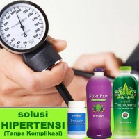 Obat Hipertensi Terbukti Paling Aman dan 100% Herbal Alami Asli
