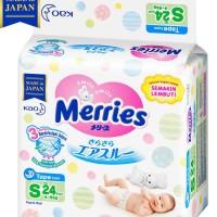 Popok Merries S24 Newborn 24 M22 Unik Murah