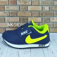 Sepatu Nike Anak Navy Ijo Stabilo Nk-18 - 24 Sale