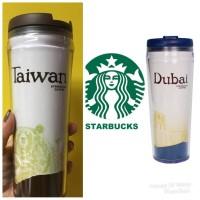 Starbucks Taiwan 16th Anniversary Glass Cup 2 pcs Set