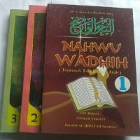 Nahwu Wadhih 3 Jilid Terjemah