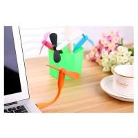 Kipas Angin USB Portable Fan Mini Powerbank Stick GROSIR