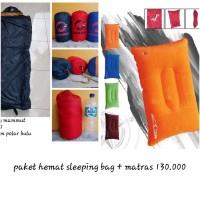 Paket Hemat Sleeping Bag Dan Bantal Dhaulagiri Dan Mammut Not Consina