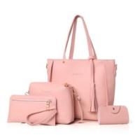 Tas Selempang Wanita Slingbag Sheila Bag Set 4 in 1 Slempang Cewek Ori