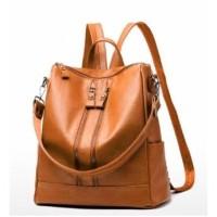 Tas Ransel Wanita Cewek Stylish Fashion Backpack Back Pack Bag Kamila