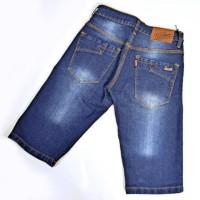 Celana pendek jeans santai levis jeans jean jin pria laki cowok biru b