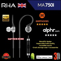 RHA MA750i / MA 750i Premium High-Res In-Ear Headphones Original