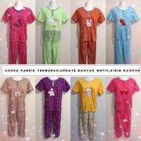 Grosir Baju Tidur Kaos Impor Stelan Dewasa CP Wanita Piyama Murah