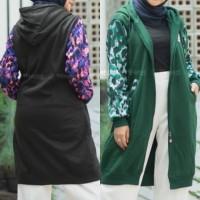 Jaket muslimah Hijacket Camouflashion all size M fit to L original