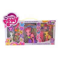 Mainan Anak Perempuan Figure Little Pony Isi 3 - Kado Mainan Cewek