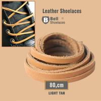 Tali sepatu bahan kulit asli 80cm kualitas pertamax Import ITALY