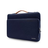 Tas Laptop Macbook Tomtoc Protective Case 13 inch - Navy Blue