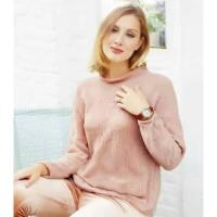 Sweater Outerwear Sophie Paris Wanita Downey Dusty Pink M M SBIB5486