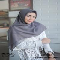 Hijab Daily Square Dark Grey Potton Korea