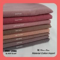 Hijab Mimi Shawl Material Cotton Import
