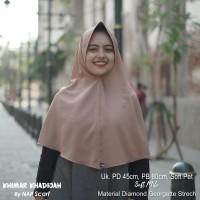 Hijab Khimar Khadijah Soft Milo Diamond Georgette Strech
