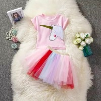 Set Baju Unicorn   Rok Anak Premium Quality Best Seller!