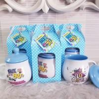 Souvenir Mug Custom/Mug Promosi/Mug Printing/Mug Sablon/Souvenir Ultah