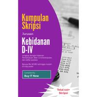 Jual Kumpulan Skripsi Kebidanan D4 Sudah Dalam Bentuk File Word Kota Denpasar Buyit Now Tokopedia