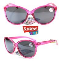 Kacamata Hitam Anak - Kaca Mata Fashion Anak Cewek Hello Kitty Pink