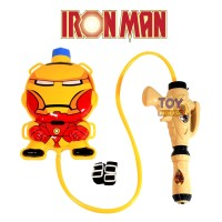 Mainan Pistol Air Ransel Iron Man - Water Gun Tabung Iron Man