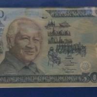 Uang polymer/plastik 50rb Soeharto