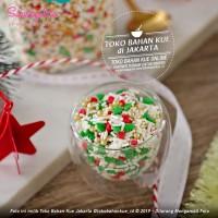 Sweetapolita - PEPPERMINT 50gr - Hiasan Christmas Cake Natal Sprinkle