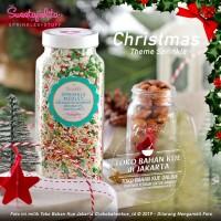 Sweetapolita - PEPPERMINT 1 Botol 400gr - Hiasan Cake Natal Sprinkle