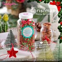 Sweetapolita - UNDER MISTELTOE 1 Botol 400gr - Hiasan Natal Sprinkle