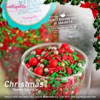 Sweetapolita - UNDER MISTELTOE 50gr - Christmas Cake Natal Sprinkle