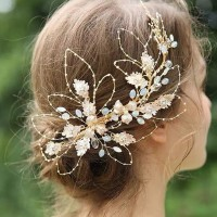 AR037 aksesoris rambut wedding accesories pesta headpiece murah